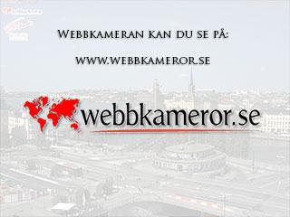 Webkamera mot Skeppsbron - Klicka för större bild.